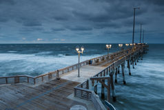 Jennette's Fishing Pier Nags Head North Carolina Royalty Free Stock Photography