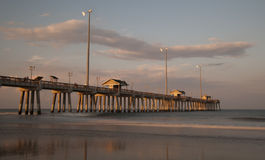 Jennette's Pier in Nags Head, NC, USA Royalty Free Stock Image