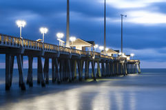 Jennette's Pier in Nags Head, NC, USA Stock Image
