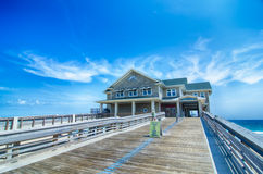 Jennette's Pier in Nags Head, North Carolina, USA. Stock Images