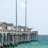 Jennette's Pier in Nags Head, North Carolina, USA. Royalty Free Stock Images