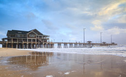 Jennette& x27 ; s Pier Nags Head North Carolina Images libres de droits