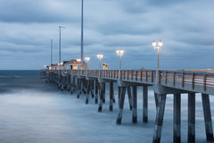 Jennettes Pier in Nags Head North Carolina NC Royalty Free Stock Image