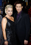 Jennie Garth et Peter Facinelli Photo stock