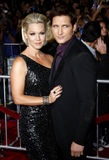 Jennie Garth et Peter Facinelli Images stock
