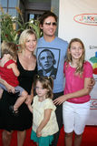 Jennie Garth,Jenny Garth,Peter Facinelli,Ronald McDonald Royalty Free Stock Images