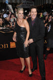 Jennie Garth, Peter Facinell Photo stock