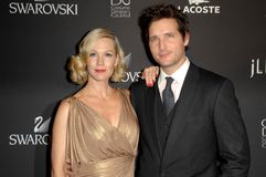 Jennie Garth, Peter Facinelli Stock Photo