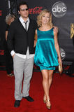Jennie Garth,Peter Facinelli Royalty Free Stock Images