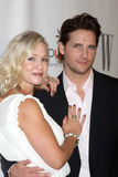 Jennie Garth,Peter Facinelli Stock Photography