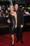 Jennie Garth, Peter Facinelli Photographie stock