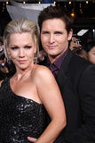 Jennie Garth, Peter Facinelli Images stock