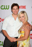 Jennie Garth,Peter Facinelli Royalty Free Stock Image