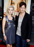 Jennie Garth and Peter Facinelli Royalty Free Stock Photos