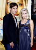 Jennie Garth and Peter Facinelli Stock Photography