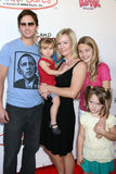 Jennie Garth,Ronald McDonald,Peter Facinelli,Jenny Garth Royalty Free Stock Photography