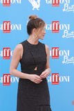Jennifer Aniston al Giffoni Ekranowy festiwal 2016 Obraz Stock