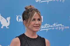 Jennifer Aniston al Giffoni Ekranowy festiwal 2016 Obrazy Stock