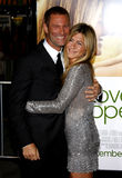 Jennifer Aniston et Aaron Eckhart Photo libre de droits