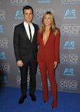 Jennifer Aniston & Justin Theroux Royalty Free Stock Image