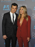 Jennifer Aniston & Justin Theroux Royalty Free Stock Images
