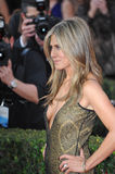 Jennifer Aniston. LOS ANGELES, CA - JANUARY 25, 2015: Jennifer Aniston at the 2015 Screen Actors Guild  Awards at the Shrine Auditorium Royalty Free Stock Images