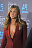 Jennifer Aniston. LOS ANGELES, CA - JANUARY 15, 2015: Jennifer Aniston at the 20th Annual Critics' Choice Movie Awards at the Hollywood Palladium Royalty Free Stock Photo