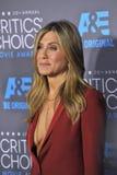 Jennifer Aniston. LOS ANGELES, CA - JANUARY 15, 2015: Jennifer Aniston at the 20th Annual Critics' Choice Movie Awards at the Hollywood Palladium Royalty Free Stock Image
