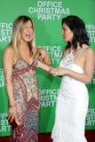 Jennifer Aniston and Olivia Munn Stock Images