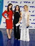 Jennifer Bartels, Kyle Richards, Mena Suvari. At the 2017 MTV Video Music Awards held at the Forum in Inglewood, USA on August 27, 2017 Stock Photos