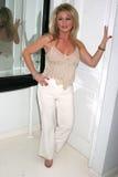 Jennifer Bern an der Villenparty bewirtet durch britische Talk Show Moderator Jacquie Flamme. Privater Wohnsitz, Beverly Hills, CA stockfotos