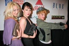 "Jennifer Blanc,Dana Daurey. Jennifer Blanc, Alyssa Lobit and Dana Daurey  at the ""Bond & The Bond Girls Fight Cancer"" to benefit the Leukemia and Lymphoma Stock Photography"