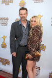 Jennifer Blanc, Michael Biehn,  Royalty Free Stock Photos