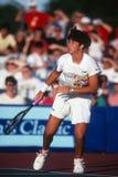 Jennifer Capriati Professional Tennis Player. Jennifer Capriati tennis player in action at a tournament Stock Photos