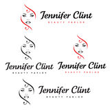 Jennifer Clint Beauty Parlour Stock Afbeelding