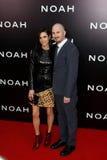Jennifer Connelly, Darren Aronofsky royalty free stock photo
