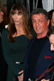 Jennifer Flavin, Sylvester Stallone Royalty Free Stock Photography