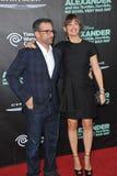Jennifer Garner & Steve Carell Obrazy Stock