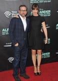 Jennifer Garner & Steve Carell Fotografia Royalty Free