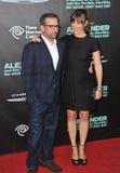 Jennifer Garner & Steve Carell Fotografia Stock