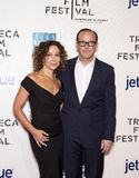 Jennifer Grey and Clark Gregg Royalty Free Stock Photography