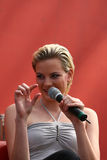 Jennifer Hof all'AMI Leipzig Immagini Stock