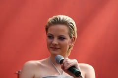 Jennifer Hof all'AMI Leipzig Fotografie Stock