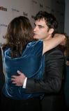 Jennifer Howell et Joaquin Phoenix Photo stock