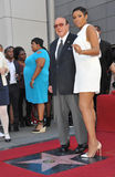 Jennifer Hudson & Clive Davis Stock Photos