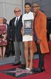 Jennifer Hudson & Clive Davis & Raphael Saadiq Stock Photo