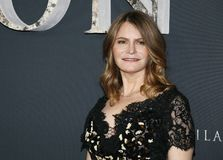Jennifer Jason Leigh. At the Los Angeles premiere of `Annihilation` held at the Regency Village Theater in Westwood, USA on February 13, 2018 Stock Photos