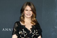 Jennifer Jason Leigh. At the Los Angeles premiere of `Annihilation` held at the Regency Village Theater in Westwood, USA on February 13, 2018 Royalty Free Stock Photography