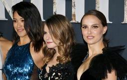 Jennifer Jason Leigh, Natalie Portman and Gina Rodriguez Stock Photos