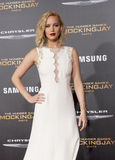 Jennifer Lawrence Stock Foto